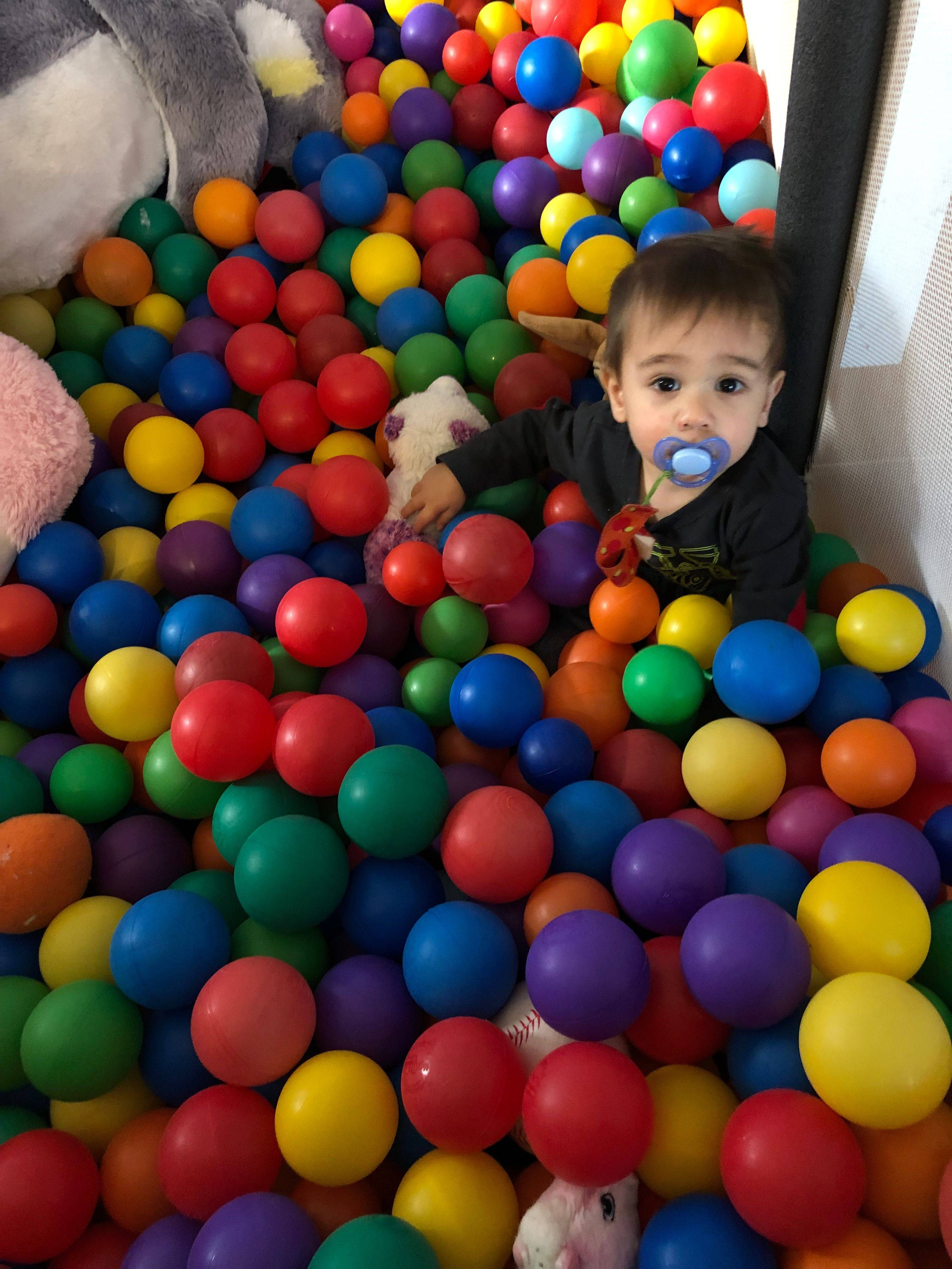 old ball pit