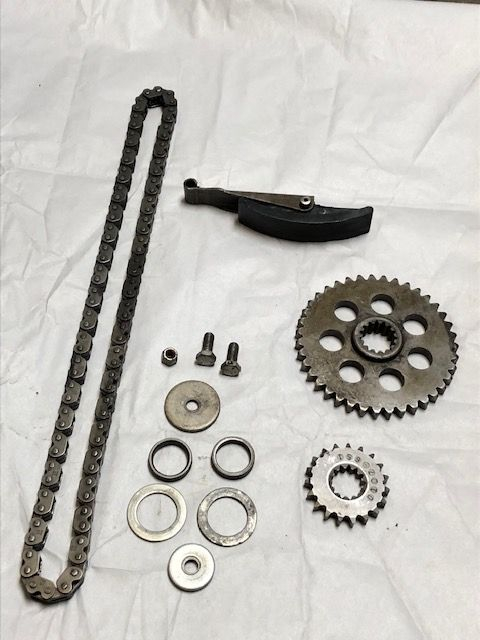 Complete 1977 Lynx Drive Chain And Gears