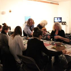 """Cameraless"" workshop  Photo by Julie Treadgold"