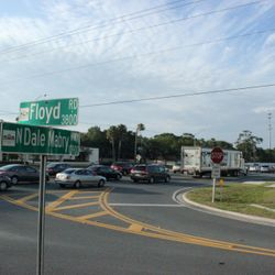 Dale Mabry and Floyd Rd., proposed location of new TRAFFIC LIGHT