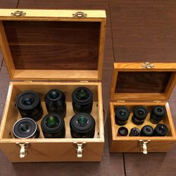 "I build a case for a gentleman who already had a Grab-N-Go case (on right) he wanted a case for his 2"" eyepieces, kind  of a ""Grab-N-Go Big Brother""."
