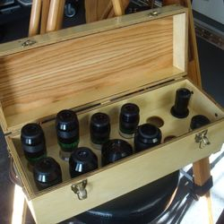 "Another custom case for a gentleman's observatory to house his Ethos' and other 2"" eyepieces."