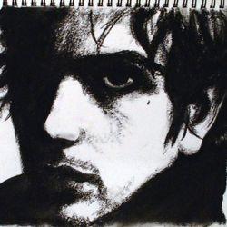 Syd Barrett. Charcoal. 2013.