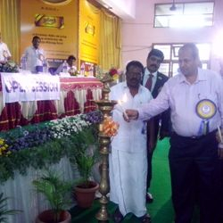 CGM TN Circle Shri.M.Ashraf Khan lighting Kuthuvilakku