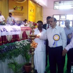 Our General Secretary Comrade R.Rakesh Sethi lighting kuthuvilakku