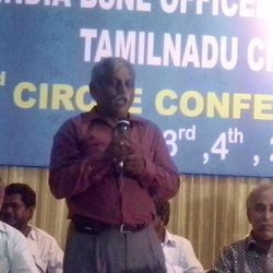 Maiden Speech by Our New Circle President Com.R.DAMODARAN, SDE COIMBATORE