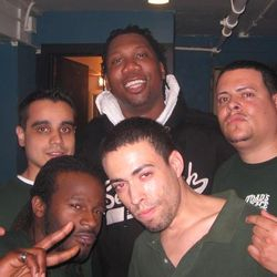 I MISS MY BOUNCER DAYS...ME,L.I.V.E. EVIL,ANTHROPAPHAGUS,ASHISH AND THE LEGENDARY KRS ONE