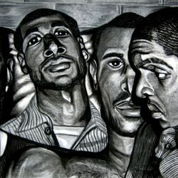 """3 Light Brothas"" By Alexis L.R. Prints AVAILABLE!"