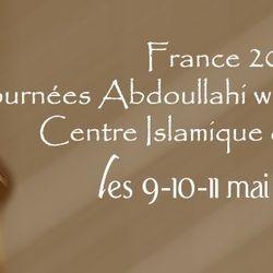 Journées Abdoul Lahi wa Khadimou Rassoulihi au Centre Islamique de Taverny, les 9,10 et 11 mai 2013.