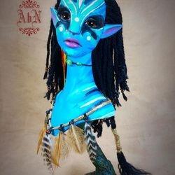 Avatar Inspired, Resin cast
