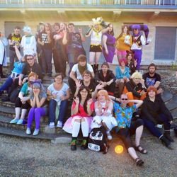 Cosplay picnic, quiz and outdoor games - 22nd August 2015 - Waterloo Park, Norwich