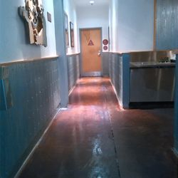 We leveled and sealed the floors at Chipotle!