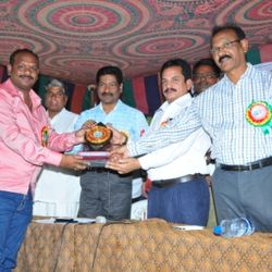 Best NGO Award receiving from Govt. of Telengana State