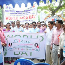 Mass awareness on HIV/AIDS