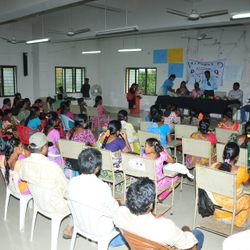Interactive meeting of HIV+ people wih Harvest school children