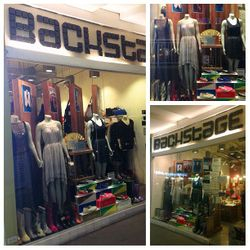 Asurio Pinafico's first collection on display at Backstage located in One Serendra Bonifacio Global City, Taguig.