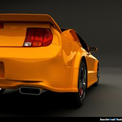 :: Mustang ::  3ds Max - vray - photoshop