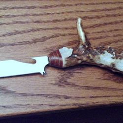 Custom Trachtenmesser - Michigan whitetail deer antler