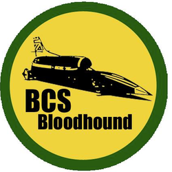 This is BCS Bloodhound - comprised solely of students in Year 8 at Barry Comprehensive School.