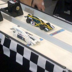 BCS Racing against Malaysian F1 in Schools Champions, Tritan Racing