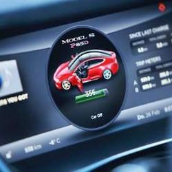 © Tesla … WHILE SOME CARS REQUIRE A TRIP TO YOUR AUTO DEALER FOR A SOFTWARE UPDATE, THE TESLA MODEL S VEHICLES RECEIVE ALL OF ITS UPDATES WIRELESSLY. SOME OF THE UPDATES INCLUDE NOT ONLY NEW FEATURES, BUT AN UPDATE TO THE INTERFACE OF THE TOUCHSCREEN.