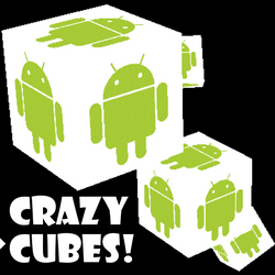 This is the app icon for my Crazy Cubes wallpaper.