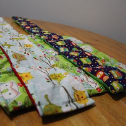 This lap pad and two weighted scarves were sent to Pioneer Bilingual in Lafayette!