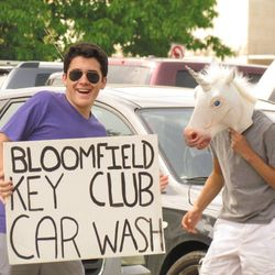 Get your car washed here!