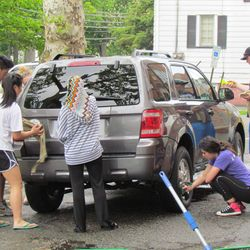 The BHS Key Club holds our annual June Carwash.  The turn out was great!
