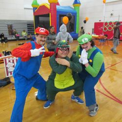Volunteers at our Unicef Halloween Carnival sure did have a blast!
