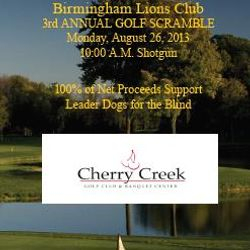 Upcoming Charity Golf Event!