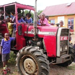 Tractor hire services courtesy of Bizoha Tractor