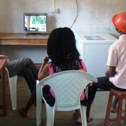 24 hr solar powered pay tv