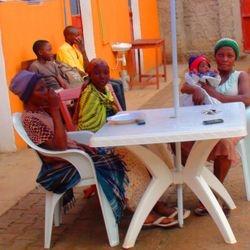 outdoor meeting venue at our Quadrangle