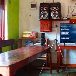 Common room for indoor meetings