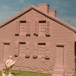 McClellan House, where Jennie Wade was shot!