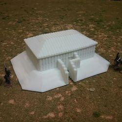 Rectangle Blockhouse 3D print