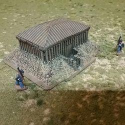 Resin Rectangle Blockhouse