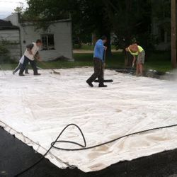 Special thanks to everyone who braved the rain to help clean the tents Saturday morning! 5-25-2013