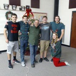 Class of 2017, Christmas 2016
