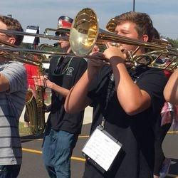 Tyler Harrison in Pep Parade, 2017