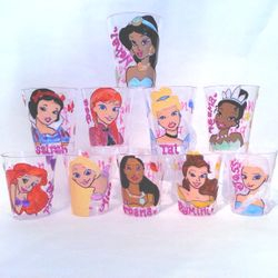 Plastic Shot Glass - Disney Princess