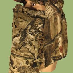 Hunting turkey in complete comfort with our face covers