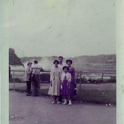 Joseph Buccelli and family. Lena, Sandra, Jackie