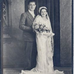 Angelo Buccelli and wife Minnie Flumer