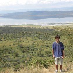 In the field at Lake Nakuru, Kenya