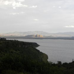 Lake Elmentaita on the Soysambu Conservency in Kenya.