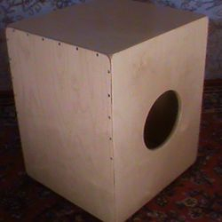 The Bass Slap cajon with slap side and no snares.