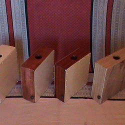 Birch, Bubinga, Padouk, and Bamboo Compact Cajons