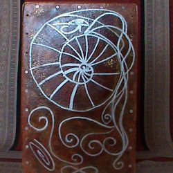 Nautilus String Cajon with Artwork by Tufani Mayfield